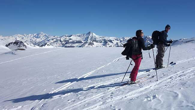 Ski de randonnée et raids à skis