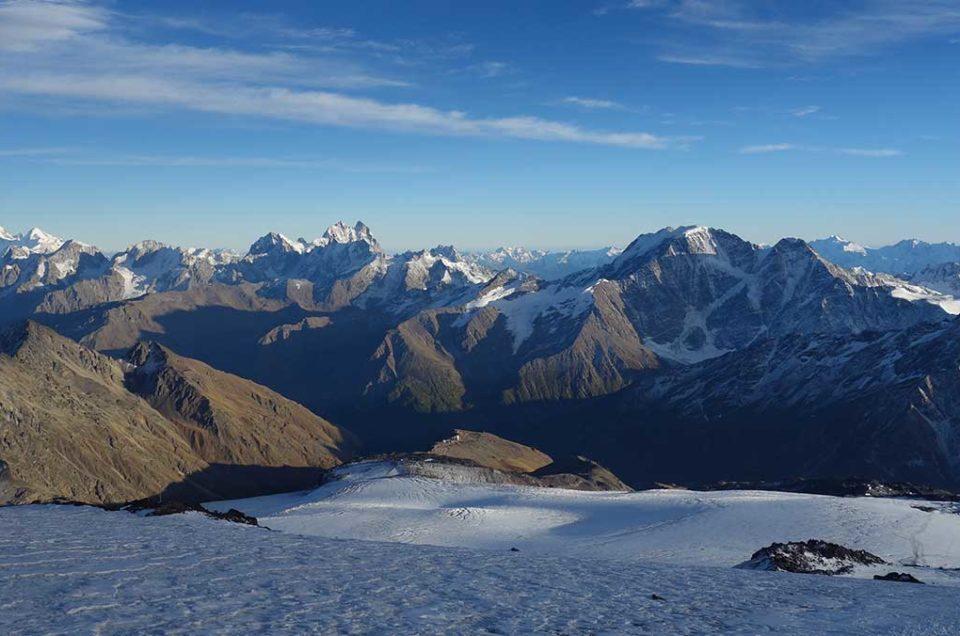 Expédition Elbrouz à ski 5642 m